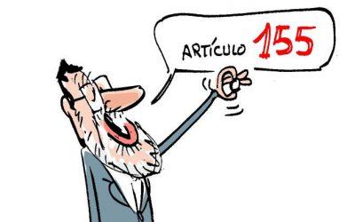 Activado el artículo 155 de la Constitución Española por primera vez.