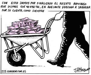 Por la justicia y la devolución del dinero espoliado a los españoles en un mundo mejor